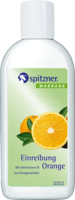 SPITZNER Massage Einreibung Orange